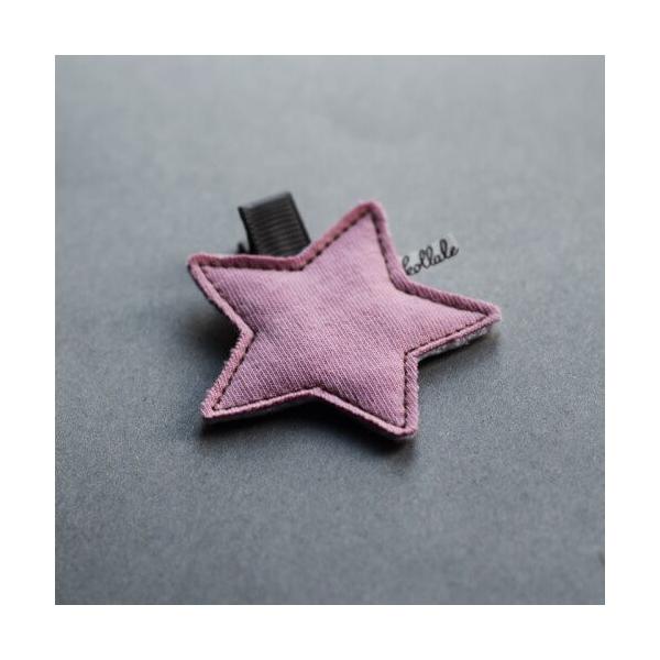 Kollale Cold Pink Stern Haarspange