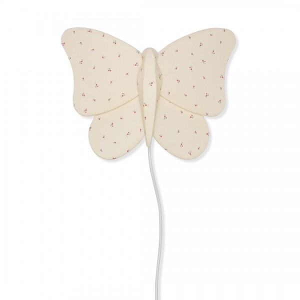 """Wandlampe Schmetterling, """"Butterfly Bloom Red / Blue"""""""