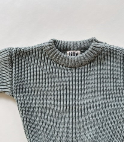 """Lille Woman Sweater """"Chunky"""", Green"""