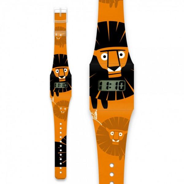 Löwe Pappwatch KIDS/ Armbanduhr aus Tyvek