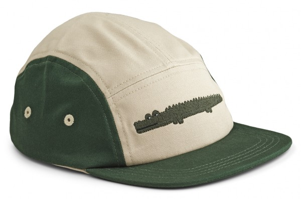 Liewood Rory Cap , Kappe Crocodile garden green mix