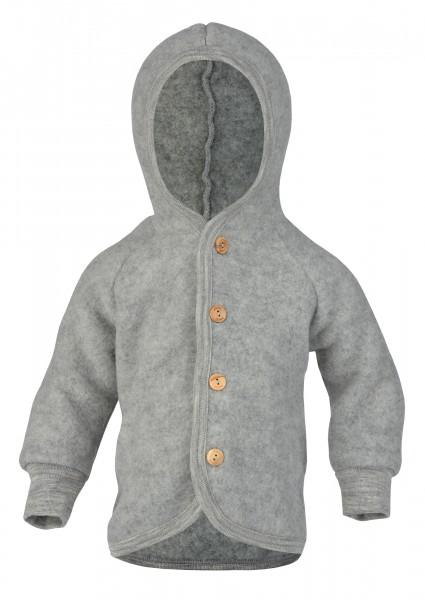 Engel Natur Wollfleece Jacke, Grau