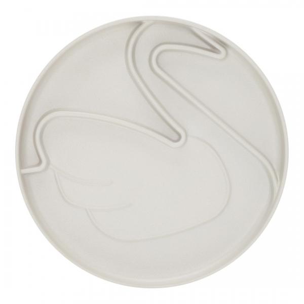 By Lille Vilde Plate Swan
