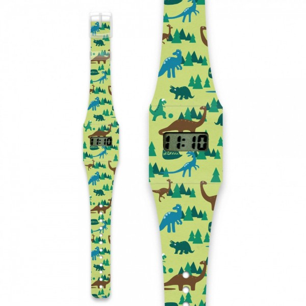 Dino Pappwatch KIDS/ Armbanduhr aus Tyvek
