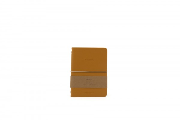 Monk&Anna HVegan Leather Notebook, Honey