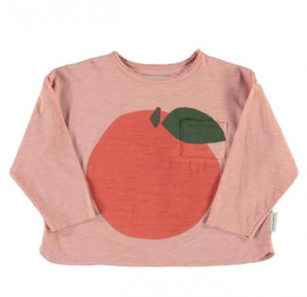 "Piupiuchick Longsleeve, ""Peach"", light pink"