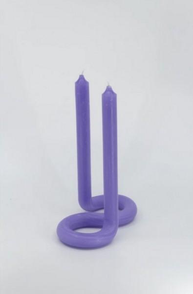 Lex Pott Kerze Twist,Lavendel
