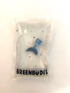 Breenbüdel Kühlkissen , Flosse Figur, dunkel Blau