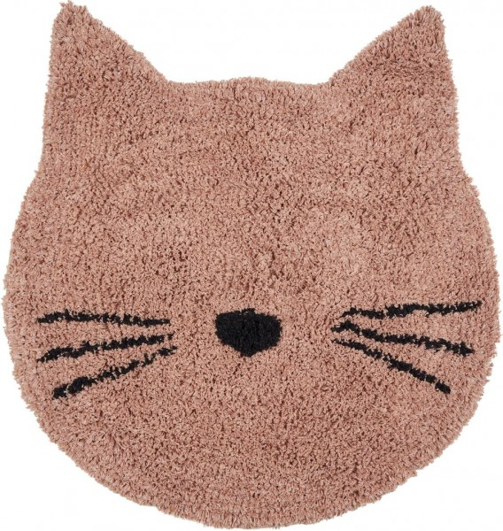 "Liewood Teppich ""Bobby Rug"" Cat - Rose"