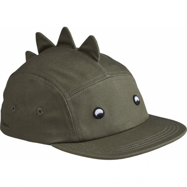 Liewood Rory Cap Dino, Kappe faune green