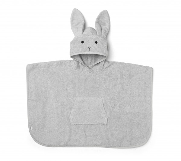 Liewood Badeponcho Rabbit Dumbo Grey