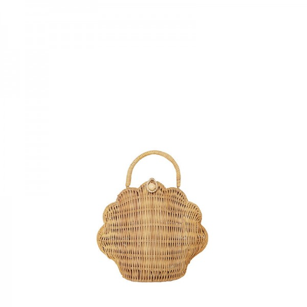 Olli Ella, shell Bag, straw