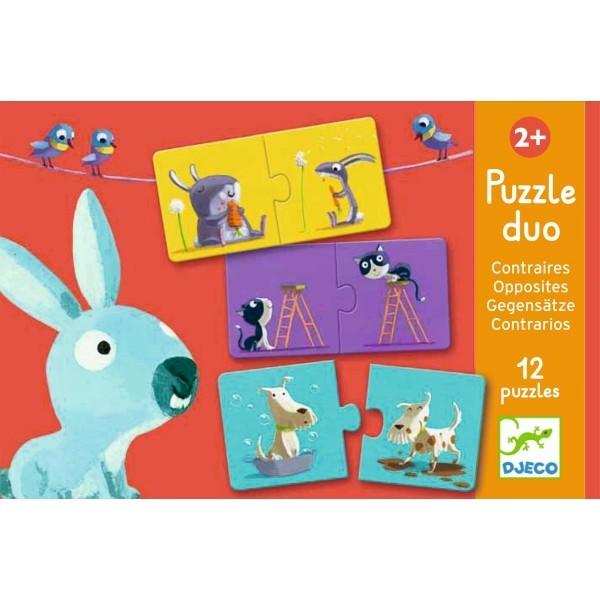 """Djeco Puzzle Duo """"Gegensätze"""""""